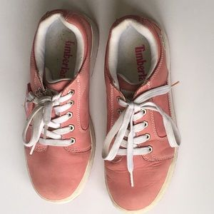 Timberland Sneaker Dusty Rose Pink Leather